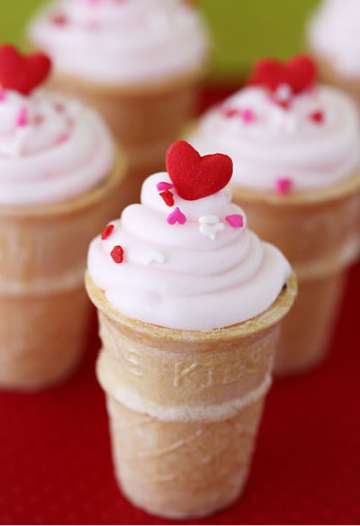Cupcake no cone