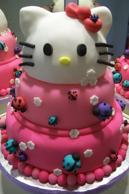 Baby Shower Cakes Hello Kitty
