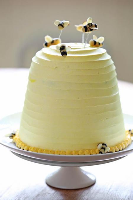 Beehive Wedding Cake