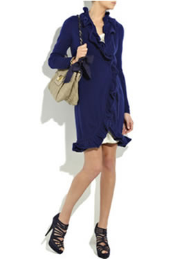 Catherine MalandrinoCashmere wrap dress