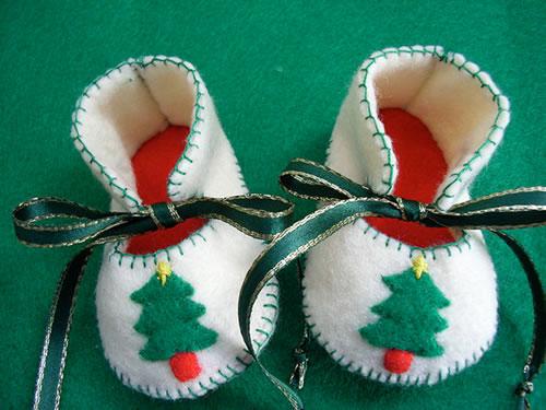 Ideias para presentes de Natal feitas à mão para o bebé  De Mãe
