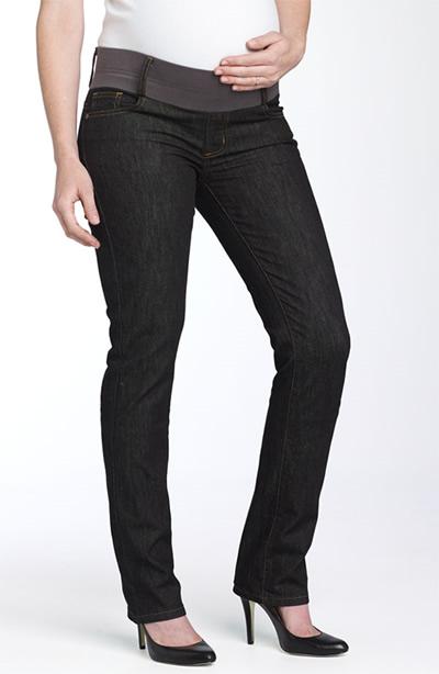 Cinta dos jeans de grávida