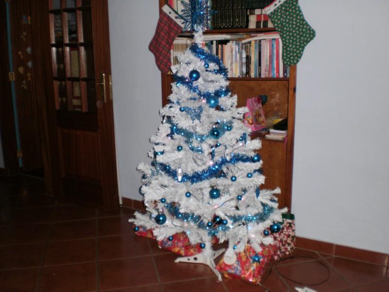 decoracao arvore de natal azul:ARVORE DE NATAL