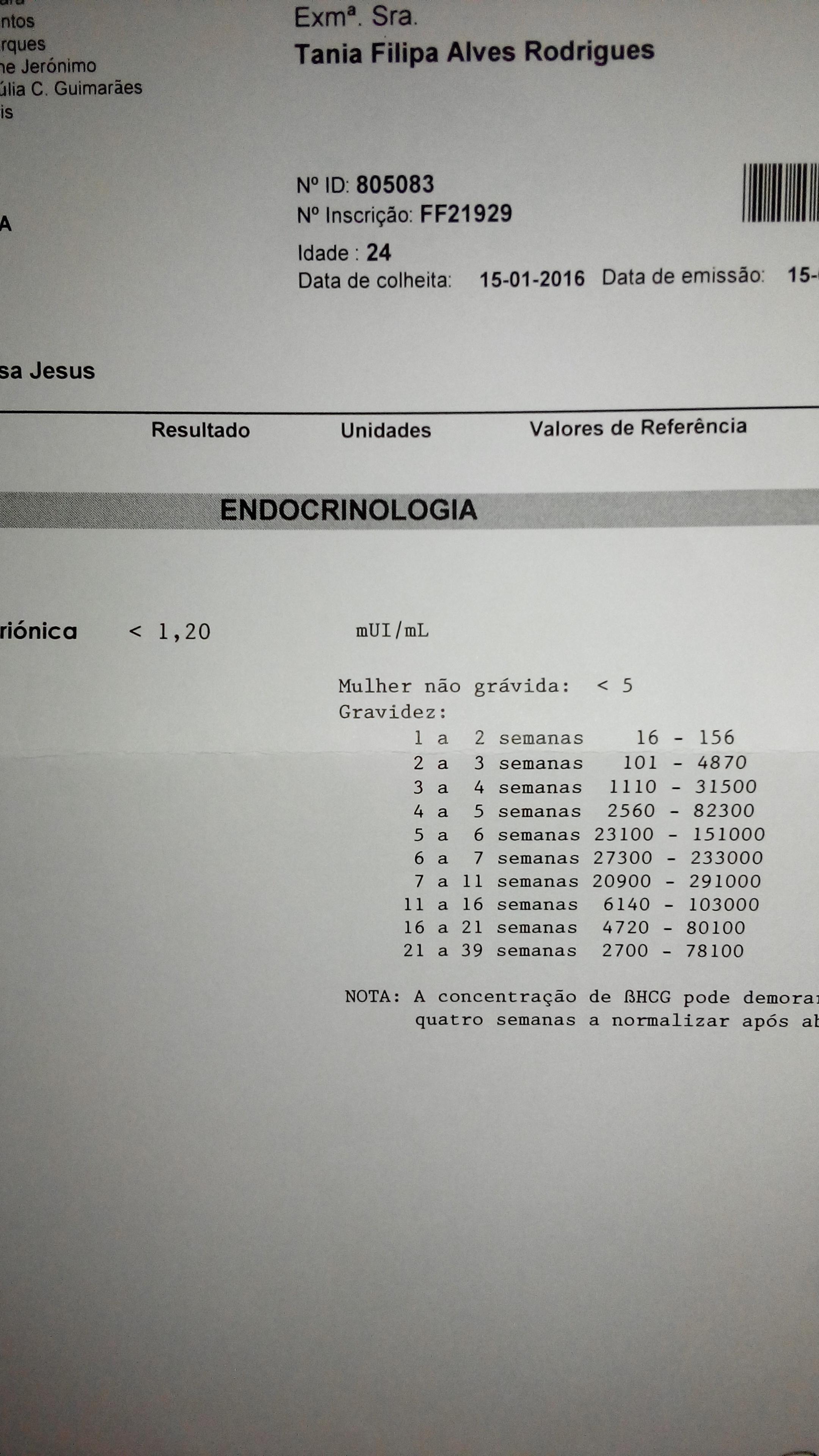 Exame hla
