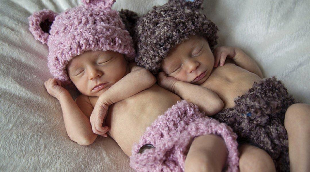 Bebés gémeos a dormir!