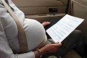 Cinto de segurança durante a gravidez