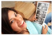 gravida feliz
