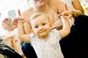 Roupa orgânica para o seu bebé