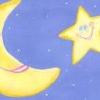 Retrato de lua e estrela