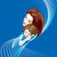 Retrato de Loving Mom
