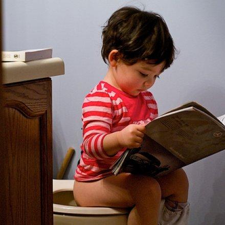 Criança a deixar as fraldas