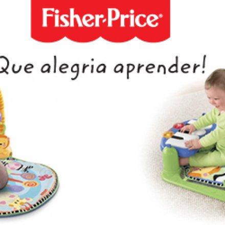 Ginásio Piano Pés e Mãos da Fisher-Price