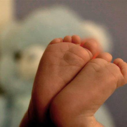 pézinhos do bebé