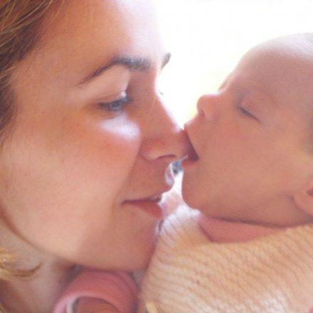 Mãe com bebé