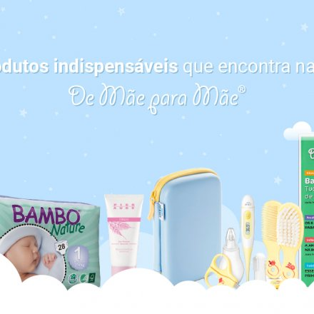 5 Produtos indispensáveis que encontra na Loja De Mãe para Mãe