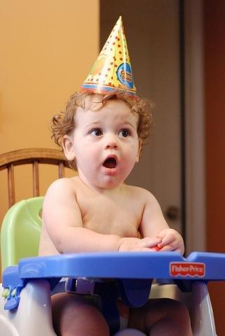 Festa de aniversário do bebé