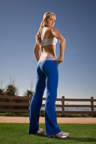 Mulher em boa-forma perder peso